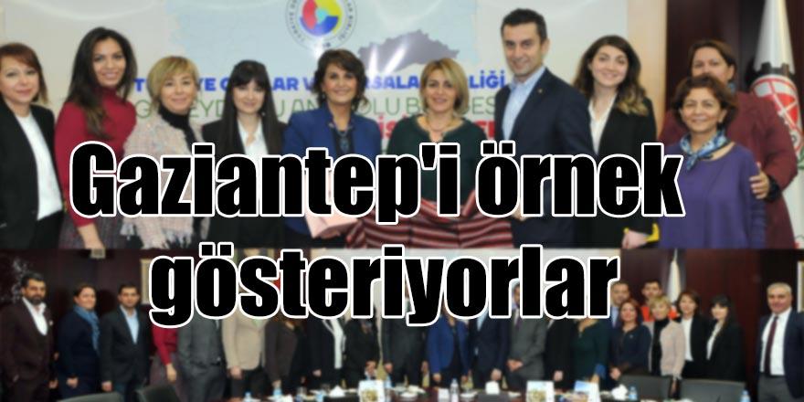Gaziantep'i örnek gösteriyorlar
