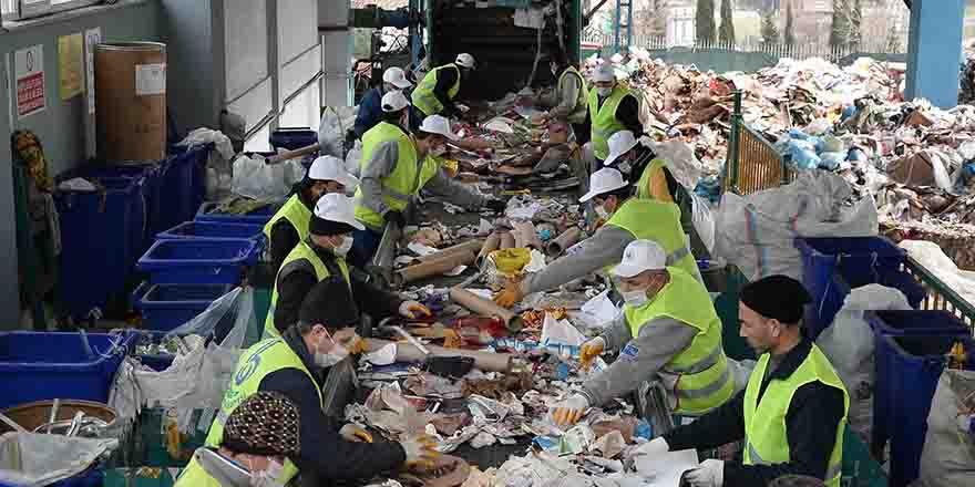 600 ton atık toplandı
