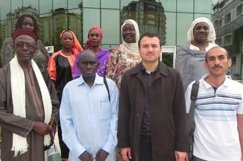 Senegalli'ler hayran kaldı