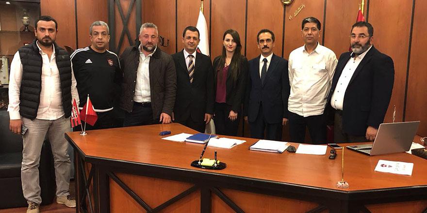 Sevgi Hastanesi Gaziantepspor'a sponsor oldu