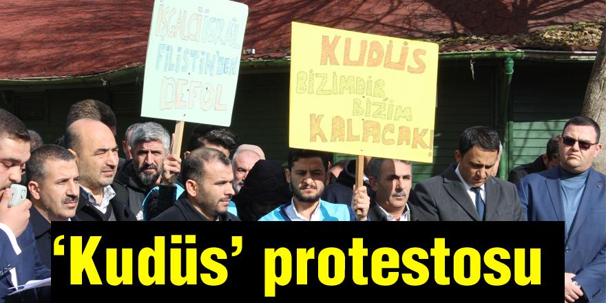 33 STK'dan 'Kudüs' protestosu