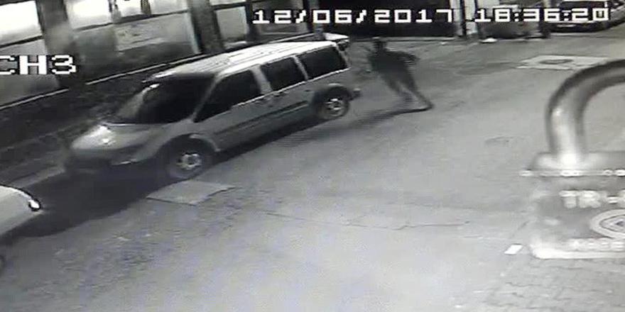 Saldırgan polisten böyle kaçtı