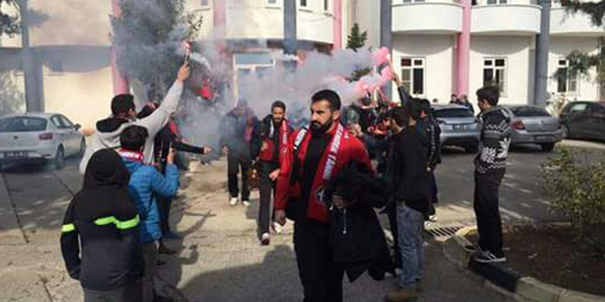 Gaziantepspor'a görkemli uğurlama
