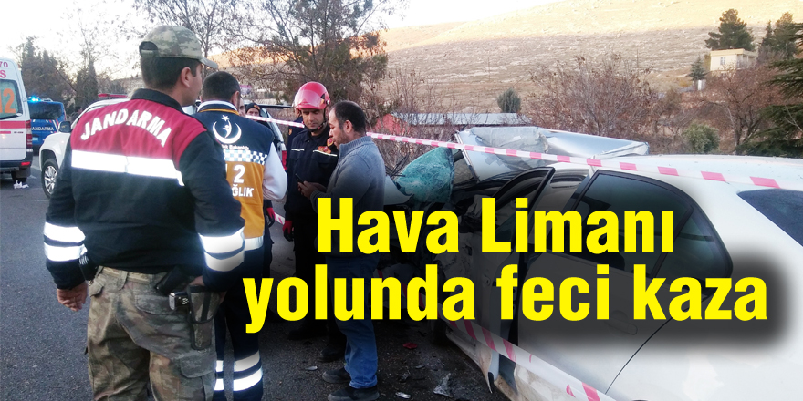 Feci kaza: 1 ölü, 4 yaralı