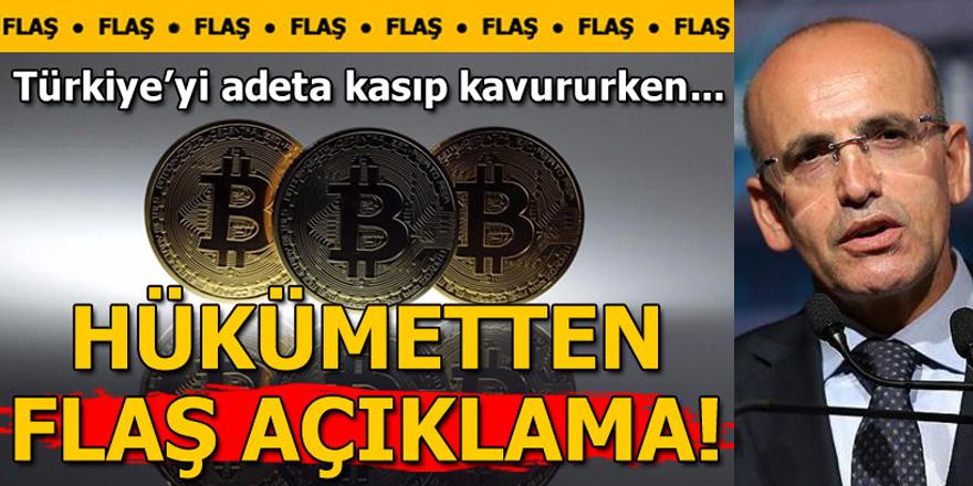 Şimşek`ten flaş Bitcoin açıklaması! `Uzak durun...`
