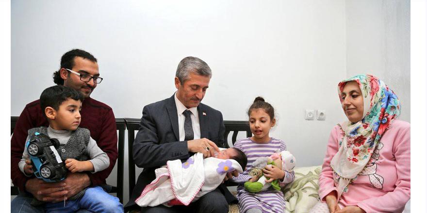 Şahinbey'in 80 bininci bebeği