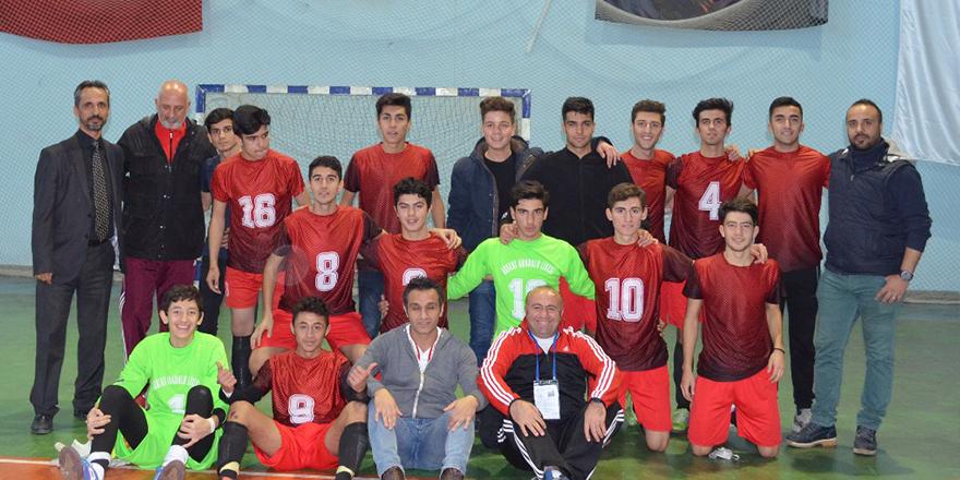 Futsal'ın şampiyonu Akkent Anadolu