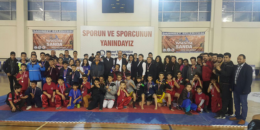ŞAHİNBEY'DE WUSHU RÜZGARI