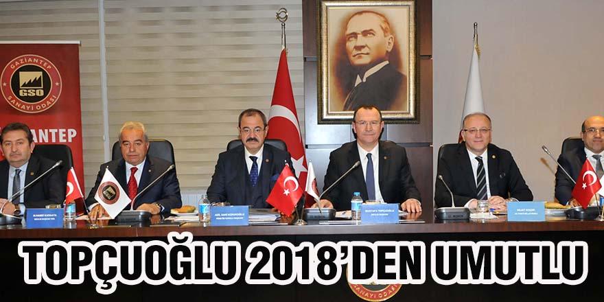 Topçuoğlu 2018'den umutlu