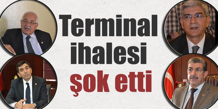 Terminal ihalesi şok etti