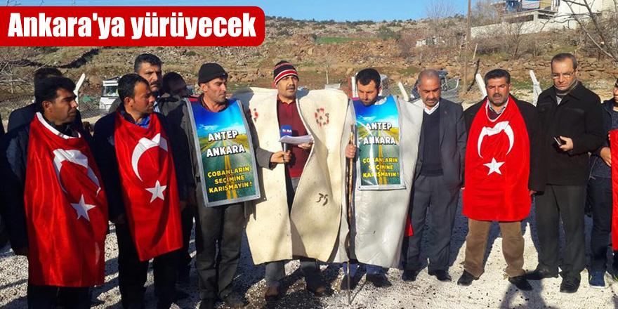 Ankara'ya yürüyecek