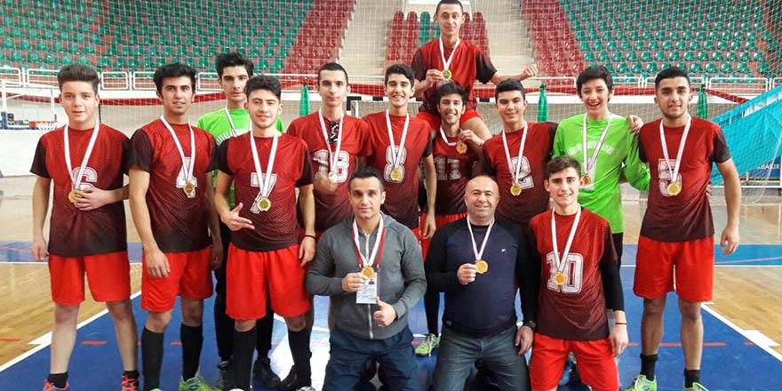 Akkent Anadolu bölge şampiyonu oldu