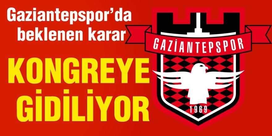 Gaziantepspor'da beklenen karar