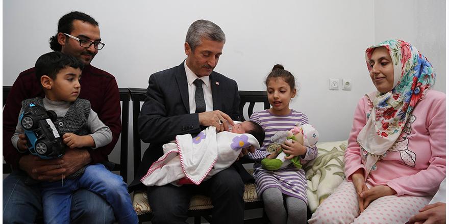 Şahinbey'in bebekleri çok şanslı