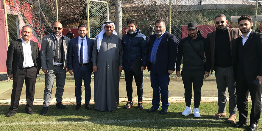 Al Arabi yetkilileri Gaziantep'te