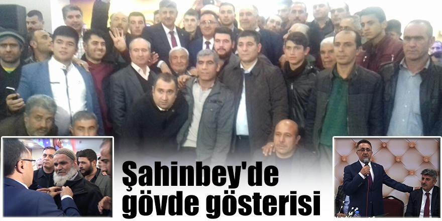 Şahinbey'de gövde gösterisi