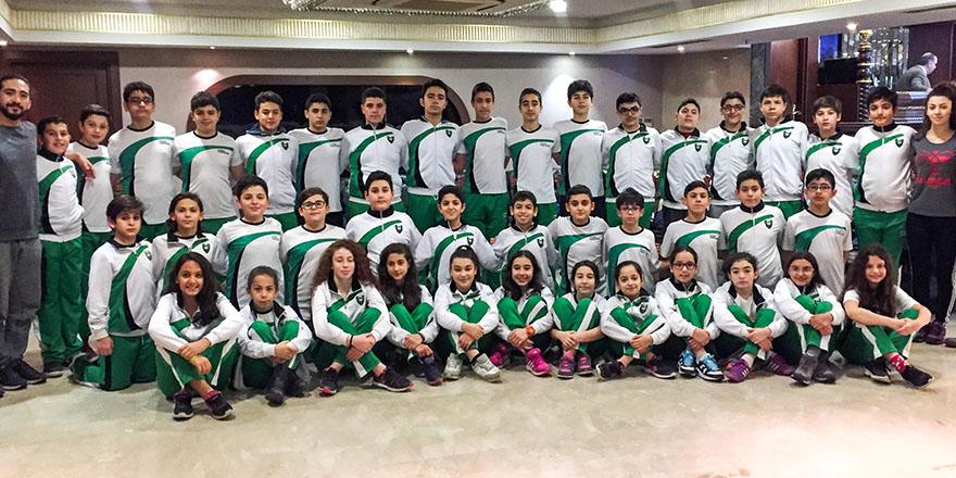 Türkiye şampiyonasında 16 madalya kazandılar