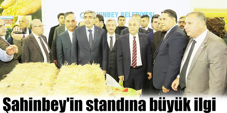 Şahinbey'in standına büyük ilgi