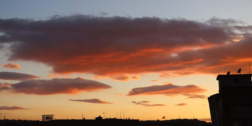 Rengarenk gün batımı