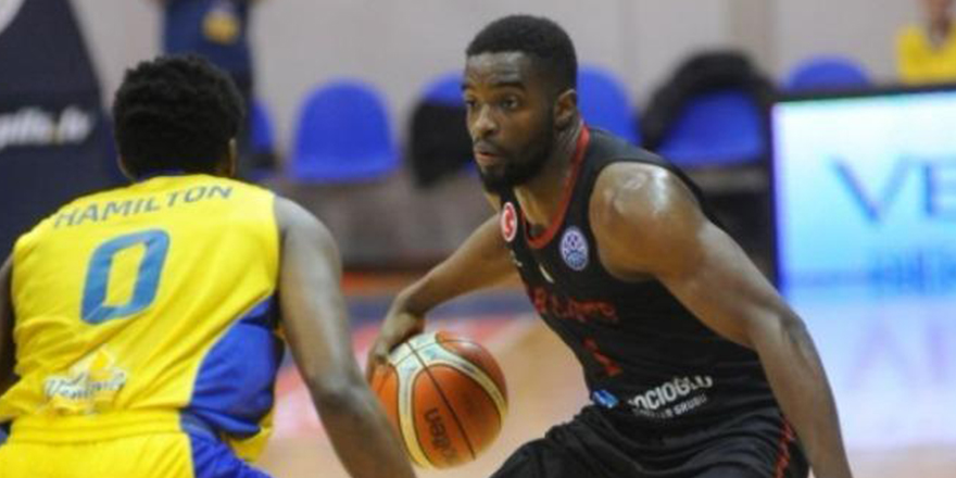 Gaziantep Basketbol, Letonya'da kazandı