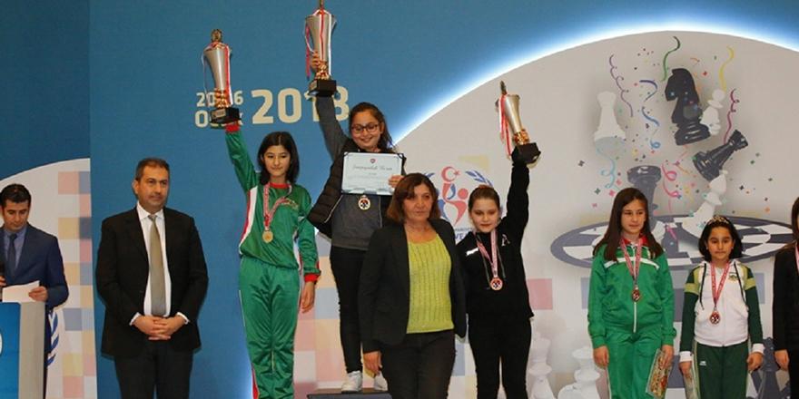 GKV'li Dila Türkiye Şampiyonu
