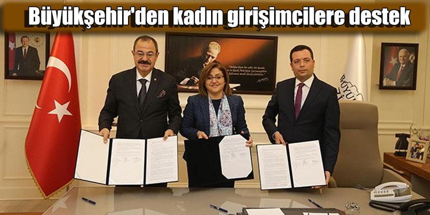 Büyükşehir'den kadın girişimcilere destek