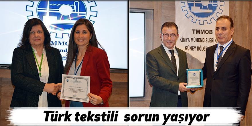 Türk tekstili sorun yaşıyor