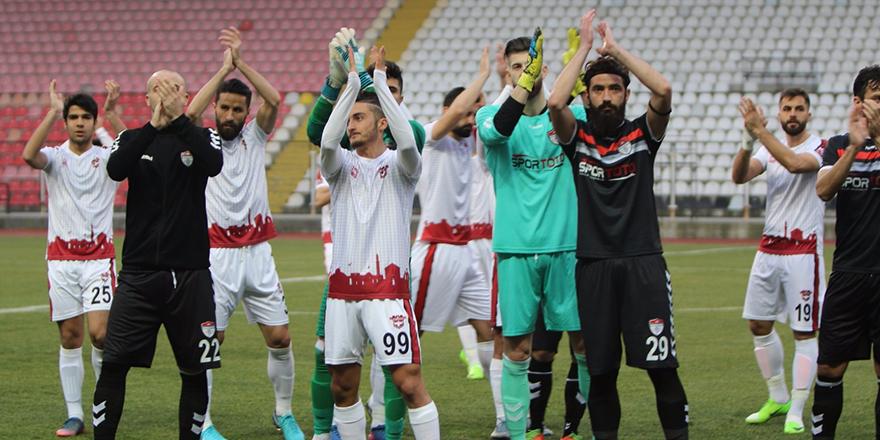 Gaziantepspor'u alkışladılar