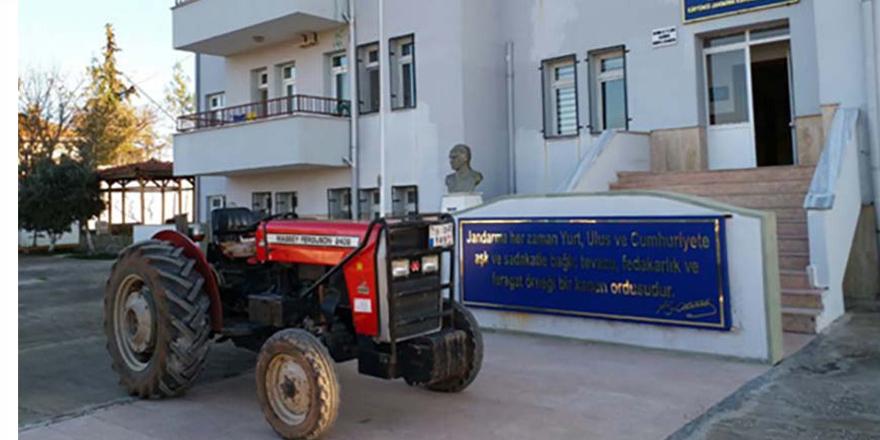Kilis'ten çalınan traktör Gaziantep'te bulundu