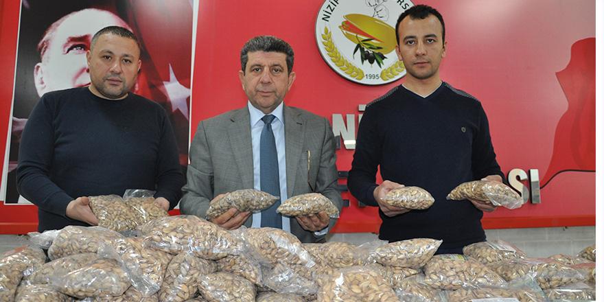 Mehmetçik'e ''fıstıklı'' destek