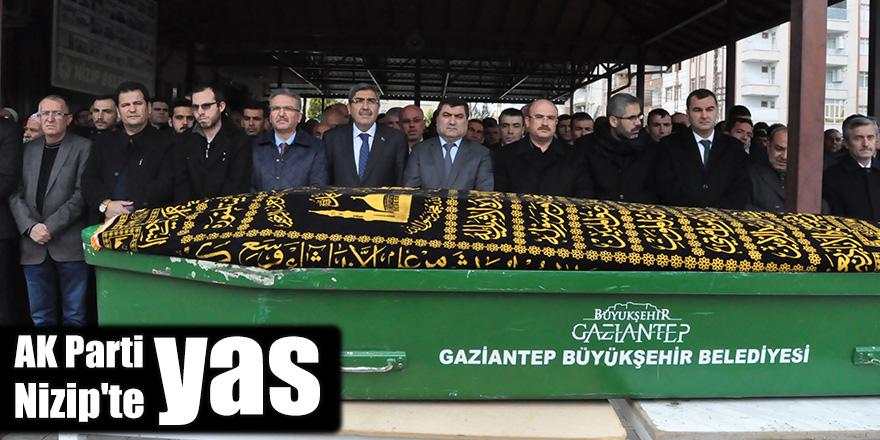AK Parti Nizip'te yas