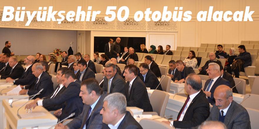 Büyükşehir 50 otobüs alacak