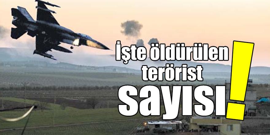 Bin 369 terörist öldürüldü