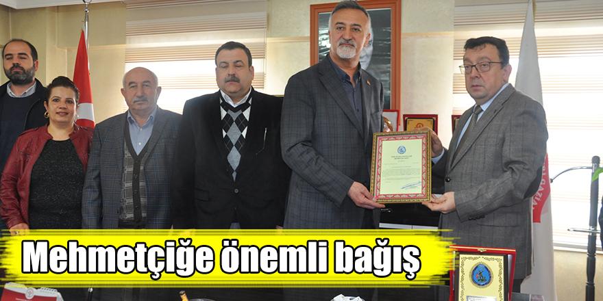Mehmetçiğe önemli bağış