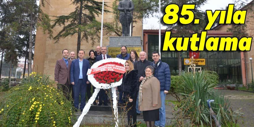 85. yıla kutlama