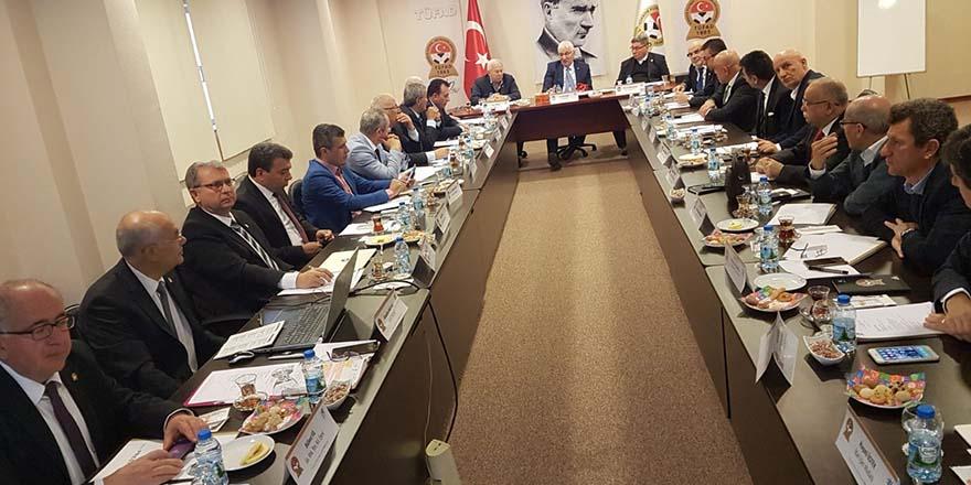 TÜFAD Genel Merkezi Gaziantep'te toplandı