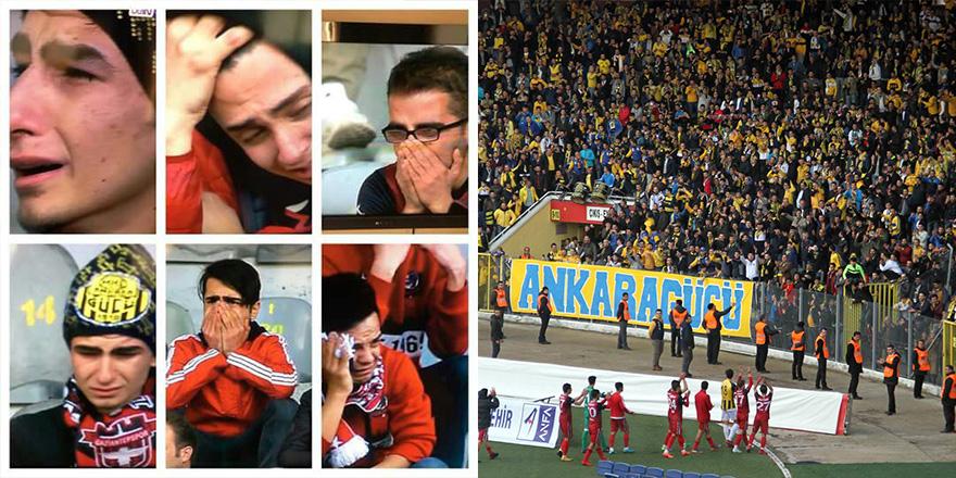 Ankara'da gözyaşları sel oldu