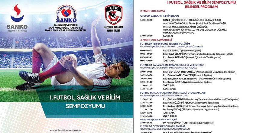 Sanko'da Spor Sempozyumu düzenleniyor