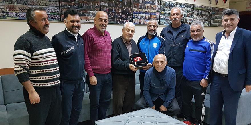 Sakıp Özberk'ten TÜFAD'a ziyaret