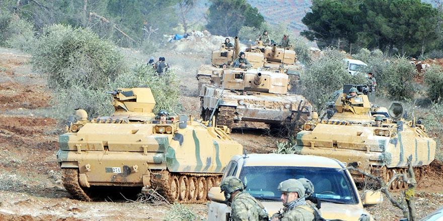 Afrin'e 15 kilometre kaldı