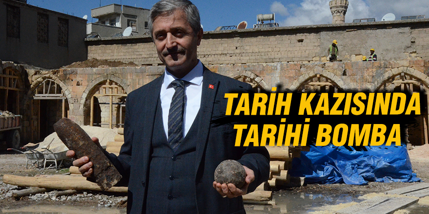 Tarih kazısında tarihi bomba