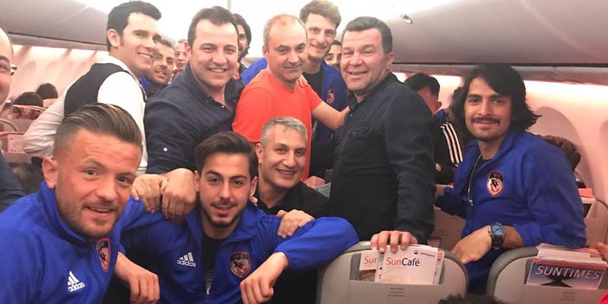 Demsoy'a uçakta sürpriz