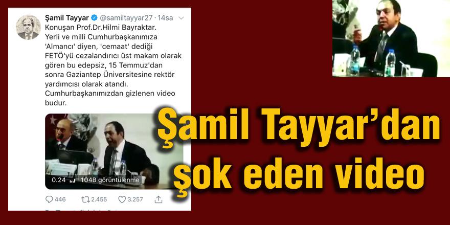 AK Partili Tayyar'dan şok eden video