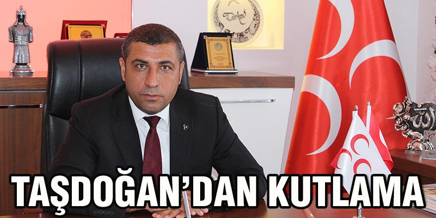 Taşdoğan'dan kutlama