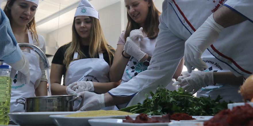 Avrupalı aşçı adayları gastronomi kenti Gaziantep'te
