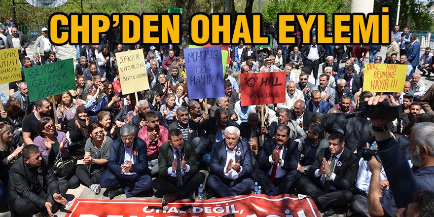CHP'den OHAL eylemi
