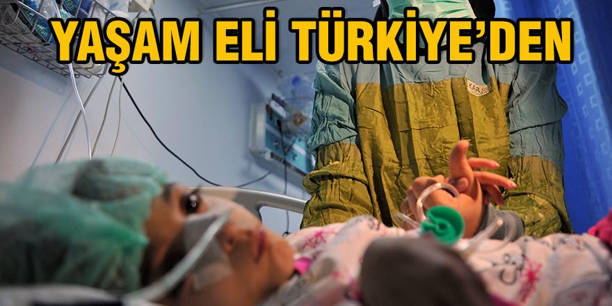 Yaşam eli Türkiye'den