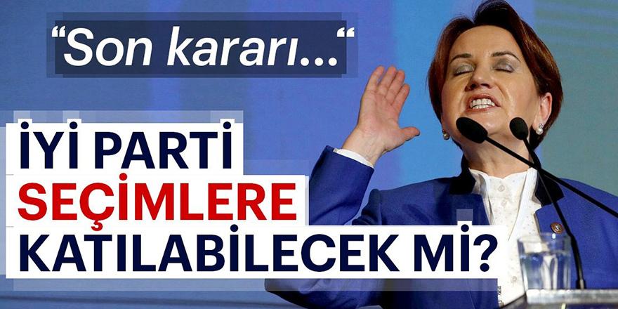 Başbakan'dan Yıldırım'dan İYİ Parti açıklaması