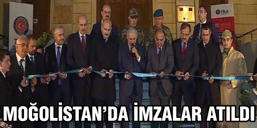 Moğolistan'da imzalar atıldı