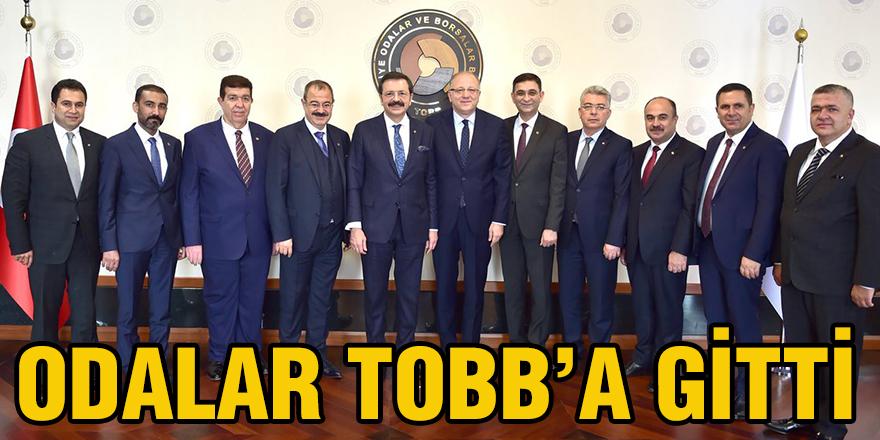 Odalar TOBB'a gitti